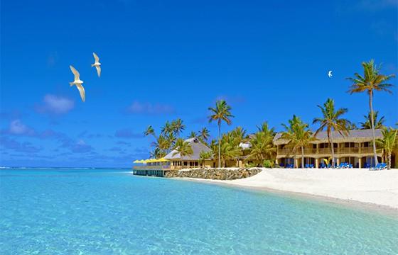 Hoteles en las Islas Cook.