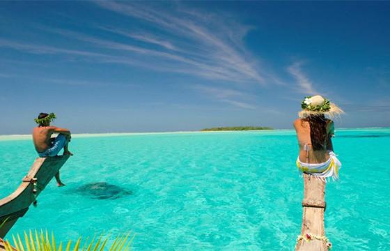 Isla Aitutaki. Islas Cook.