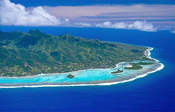 Isla Rarotonga. Islas Cook.
