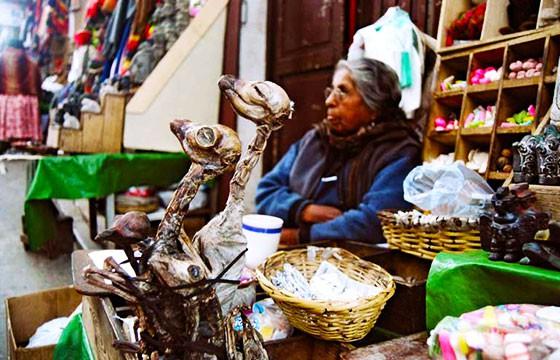 Mercado de las brujas, Bolivia. Mercados alrededor del mundo.