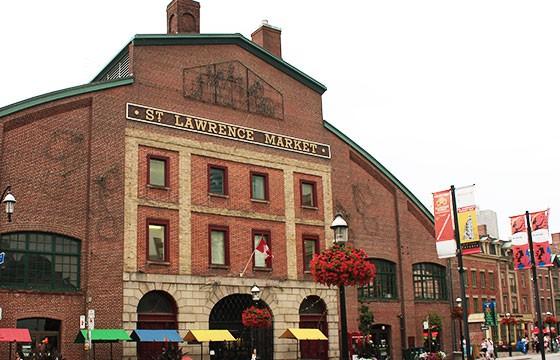 St Lawrence Market Canadá. Mercados alrededor del mundo.