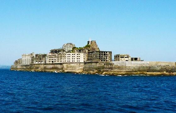 Tenebrosa isla fantasma Hashima Japón