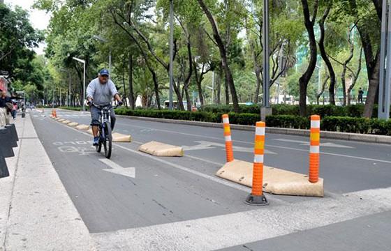 Paseos ciclistas en la Ciudad de México