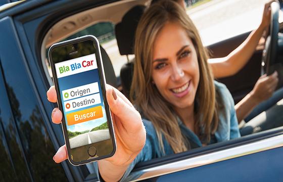 app Bla Bla Car es gratis