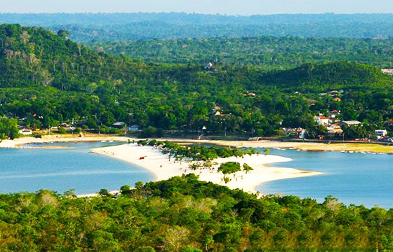 Alter do Chao, Brasil. Lugares secretos y extraordinarios del mundo.
