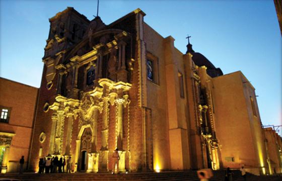 Vista de la Catedral Centro Histórico de Querétaro