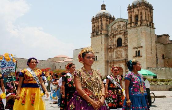 Centro de Oaxaca, México. Lugares en donde viajaría Frida Kahlo si estuviera viva.