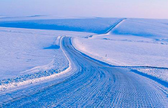 Dalton Highway James, Alaska. Carreteras más extremas-peligrosas del mundo.