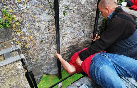 El Castillo Blarney en Irlanda. Lugares que dan suerte.