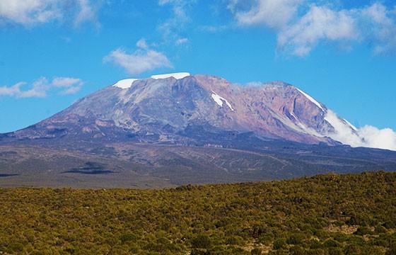El Kilimanjaro, Tanzania. Las montañas más altas del mundo.