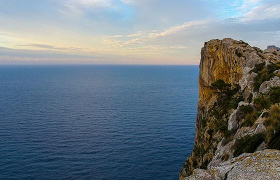 Vista desde el mirador sa Creueta España
