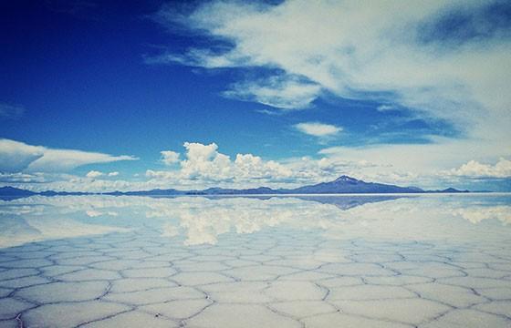 El salar de Uyuni, Bolivia. Lugares más extremos del mundo.