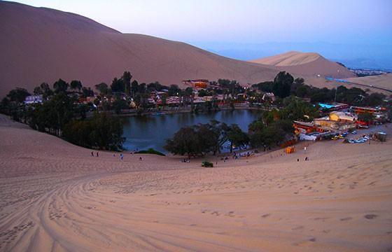 Huacachina, desierto Peruano. Lugares secretos y extraordinarios del mundo.