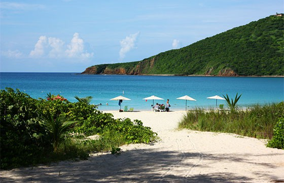 Vista de la Isla Culebra
