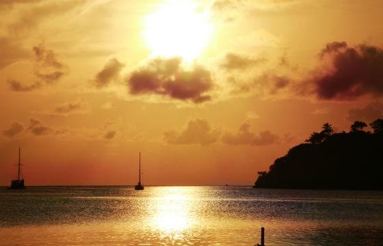 Vista Isla Providencia