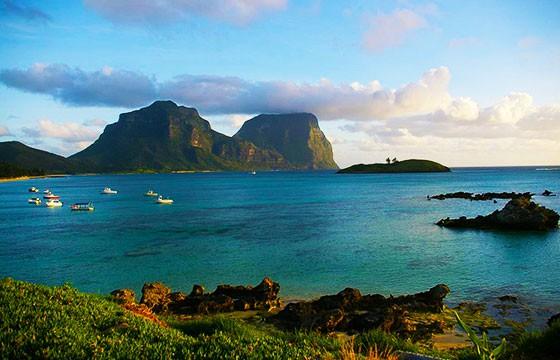 Islas de Lord Howe, Australia. Lugares secretos y extraordinarios del mundo.