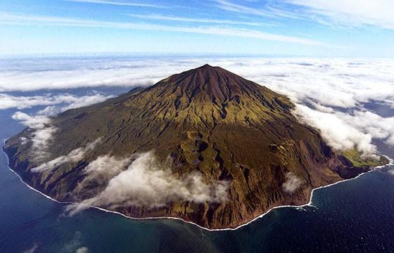 La isla Tristán Da Cunha. Lugares más extremos del mundo.