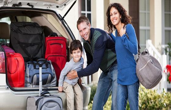 Maleta para viaje en auto. Las mejores maletas para viajar.