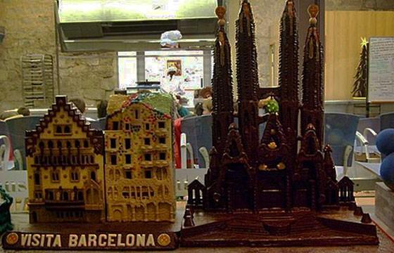 Museo del chocolate, Barcelona, España. Destinos para los amantes del chocolate en el mundo.