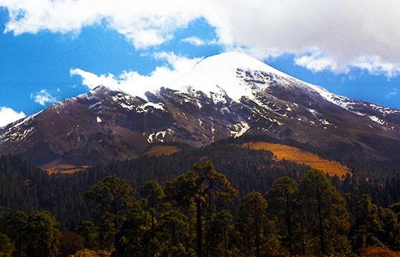 Pico de Orizaba, México. Las montañas más altas del mundo.
