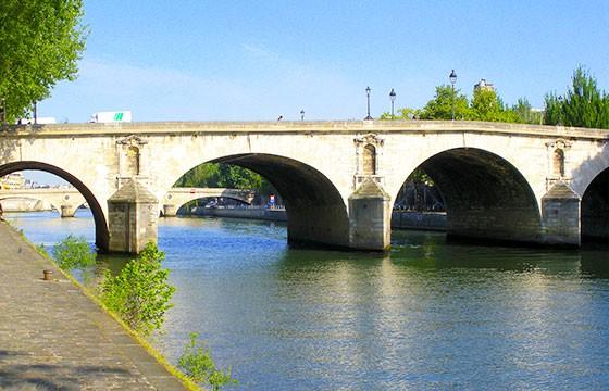 Puente Marie, Francia. Lugares que dan suerte.