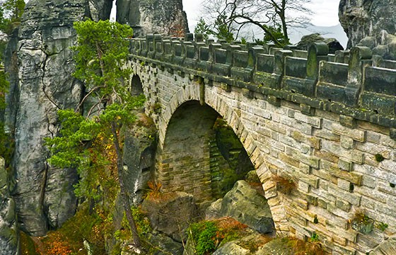 Puente de Bastei, Alemania. Lugares secretos y extraordinarios del mundo.