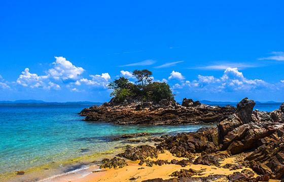 Isla Palau Kapas Malasia, Sudeste Asiático