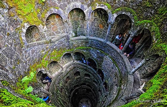 Quinta de Regaleira, Portugal. Lugares secretos y extraordinarios del mundo.