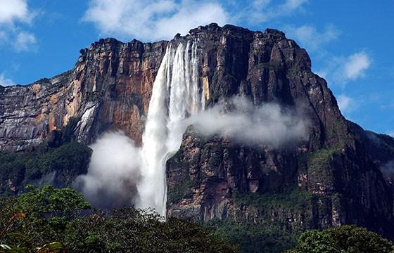 Salto del Ángel, Venezuela. 12 destinos que no cumplen las expectativas.