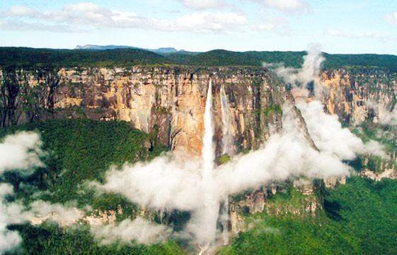 Salto del Ángel, Venezuela. Lugares más extremos del mundo.