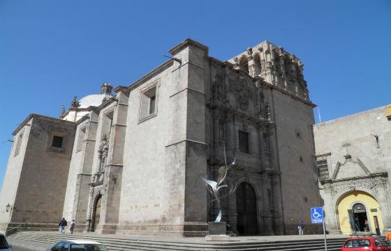 Vista del ex convento de San Agustín, Querétaro