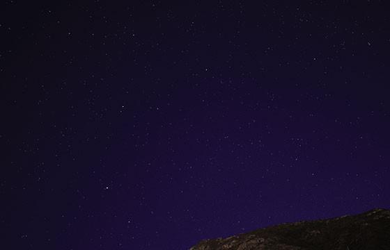 Valle de la Muerte, California. Los mejores lugares del mundo para ver las estrellas.