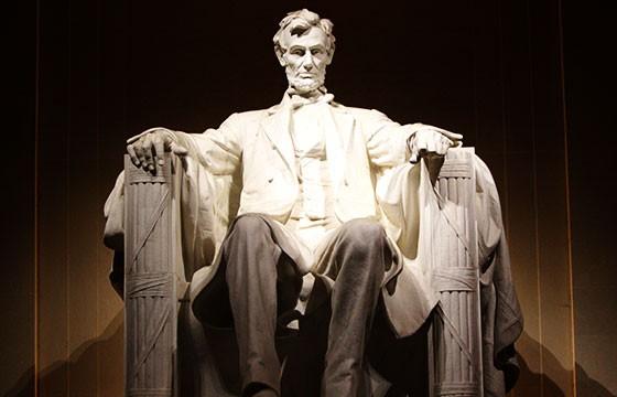 Escultura de la suerte Tumba de Abraham Lincoln