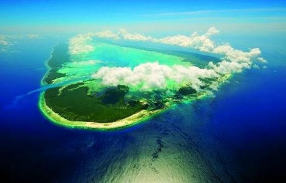 Vista de las Islas Seychelles