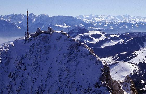Vista del Monte Wendelstein Alemania