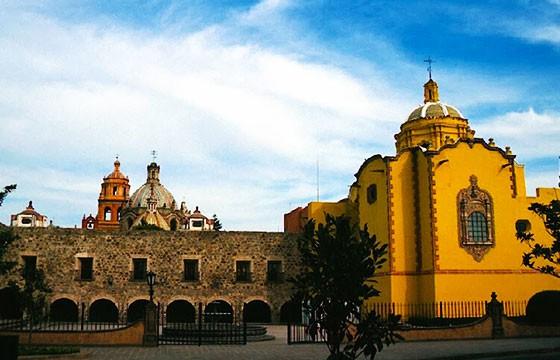 Vista del Museo Regional Potosino