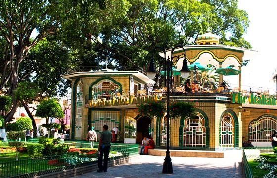 kiosco en Atlixco Puebla