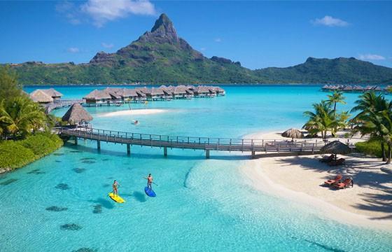 Playas de Bora Bora.