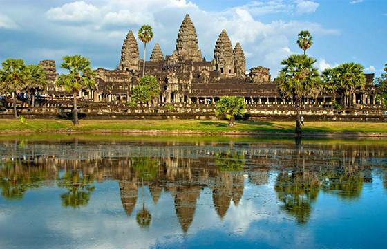 Ciudad de Camboya.