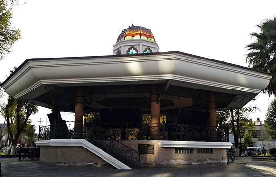 tercer kiosco más hermoso de México