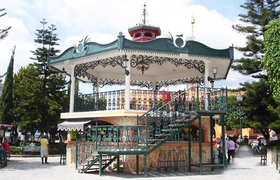 Jardín de los Mártires Ixtapan de la Sal