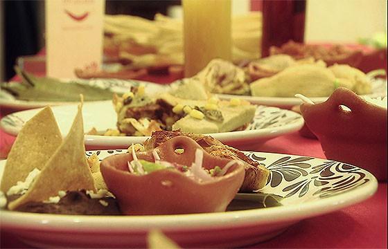 Restaurante Fonda mexicana.