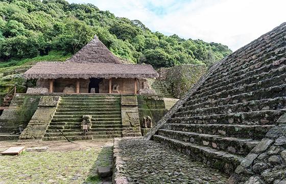 Zona arqueológica de Malinalco.