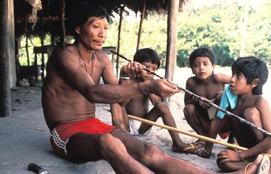 La gente mariposa (Amazonia brasileña).