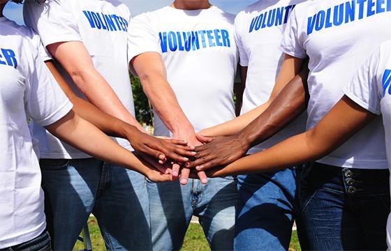Ofrecerte como voluntario.