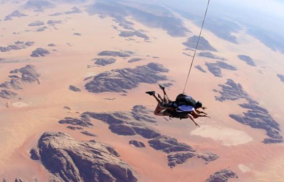 Wadi Rum, Jordania. Destinos que visitar para ser más feliz.