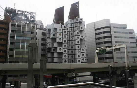 Torre Nakagin Minani (Japón)