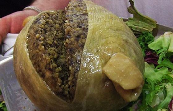 Comida exótica en Italia
