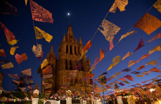 Celebrar la independencia en San Miguel de Allende