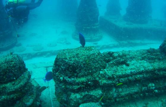 El cementerio submarino Neptune Memorial Reef